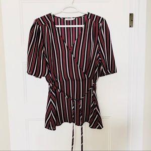 Ricki's Like new striped dress top